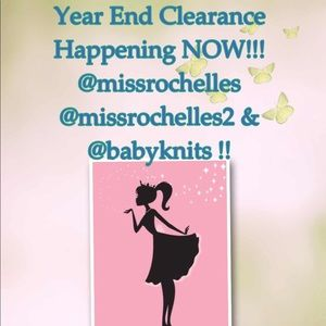 Year End Clearance in ALL MY CLOSETS!